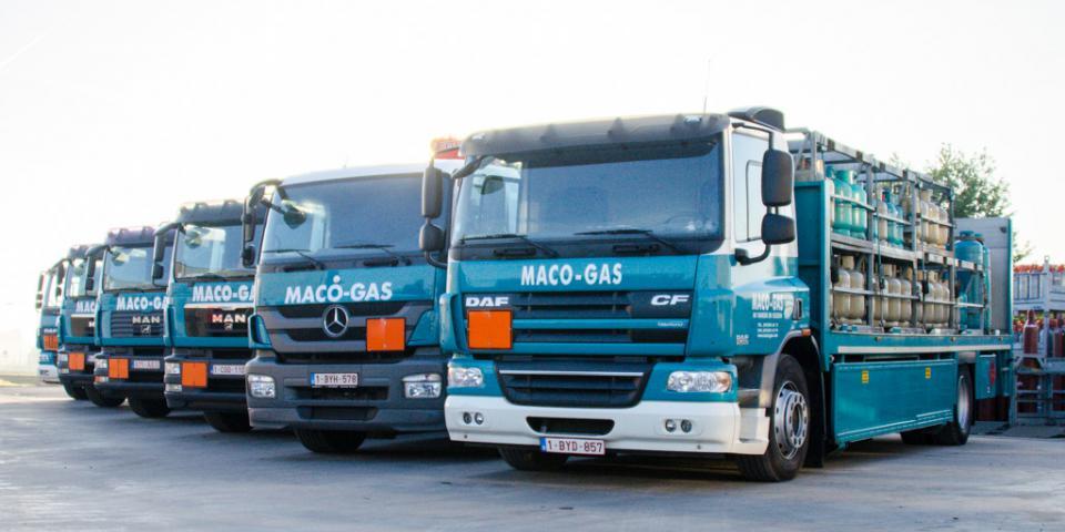 Macogas tankwagens